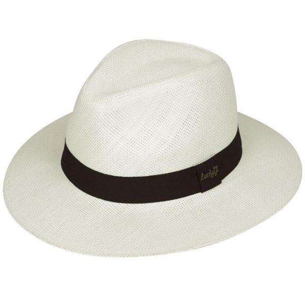 Panama Hat with Black Band (5 colors) FH 204