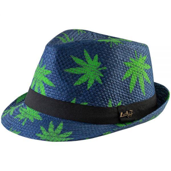 Fedora Hat Cannabis Print (4 colors) FH 262