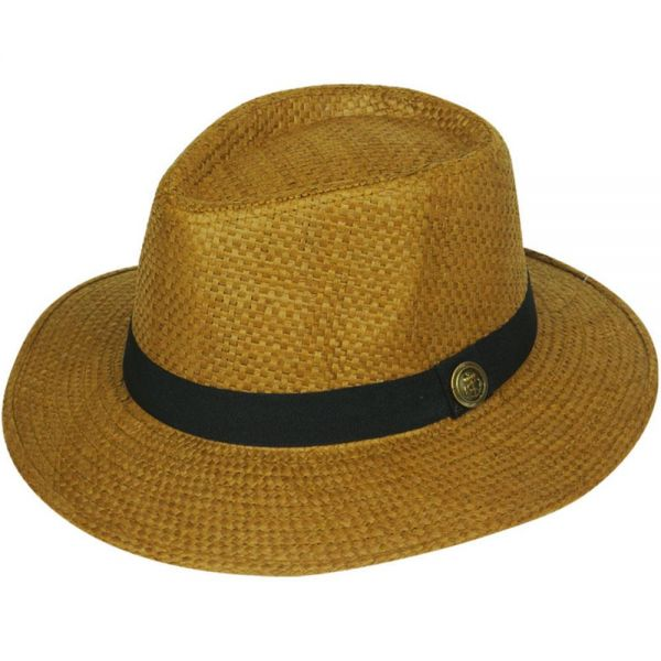 Panama Hat with Black Band (4 colors) HF 60-2