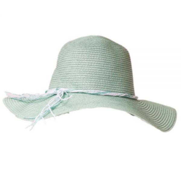 Women's Floppy Beach Sun Hat (Min Order 24 pcs-4 colors) YD 498