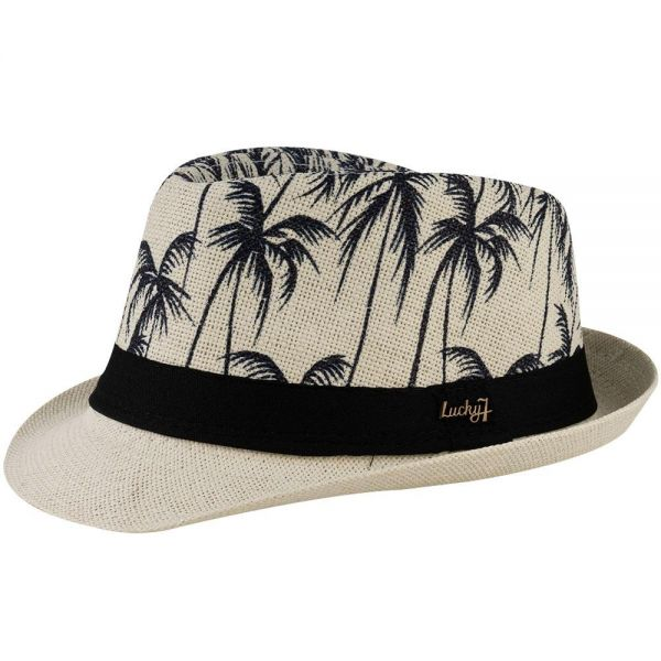 Fedora Hat Palm Print (5 colors) FH 291