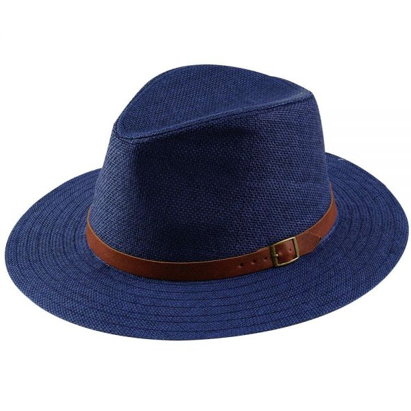 Panama Hat with Belt Buckle (3 colors) FH 307