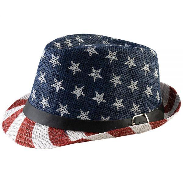 Fedora Hat American Flag Print (2 colors) YD 029