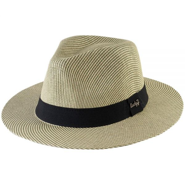 Panama Hat with Black Band (4 colors) FH 270
