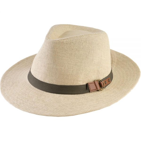 Panama Hat with Belt Buckle (4 colors) FH 296