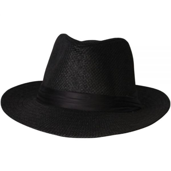 Panama Hat with Black Band (4 colors) FH 95