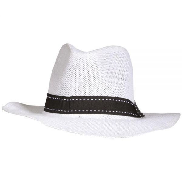 Panama Hat with Black Band (3 colors) YD 11
