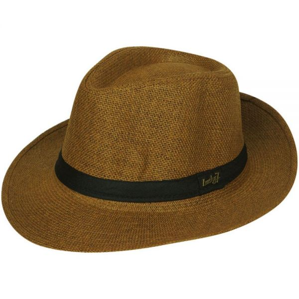 Panama Hat with Black Band (5 colors) FH 203