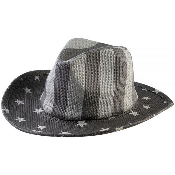 Cowboy Hat American Flag Print (Min Order 12 pcs-2 colors) YDD 21-22
