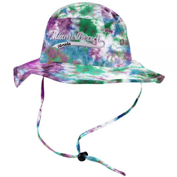 Custom Logo Tie Die Bucket Hats (6 colors) CHB 364