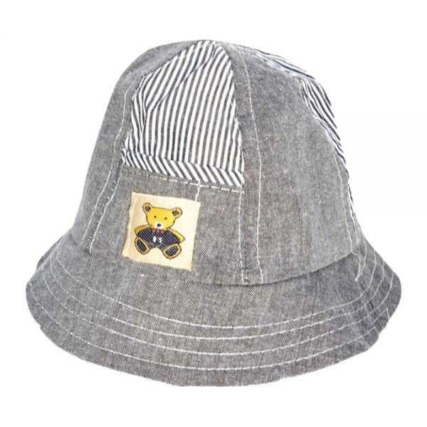 Toddler Fedora Cotton Summer Hats with UV 50+ Protection (4 colors) KHB 1017