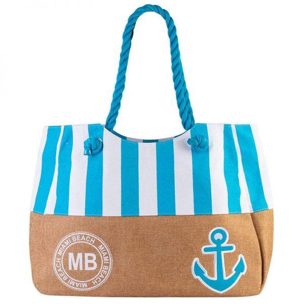 Tote Canvas Beach Bag (6 colors) B 160