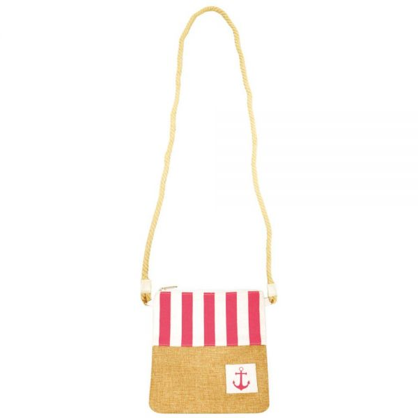 Square Crossbody Purse for Women with Rope Handle (6 colors) B 577