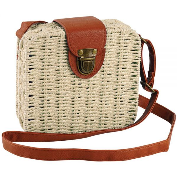 Rattan Square Fashion Bag for Women (7 colors) BB 59