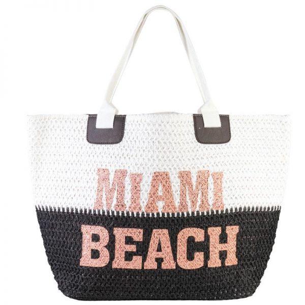 Glitter Applicated Crochet Women Bag (8 colors) BB 357