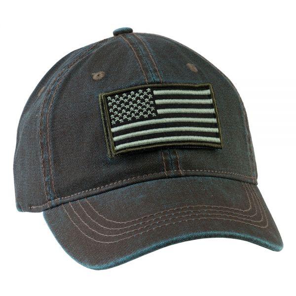 Law Enforcement Cap USA Flag (4 COLORS) CHB 118