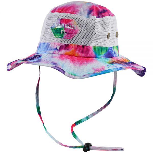 Custom Logo Tie Die Bucket Hats (6 colors) CHB 362