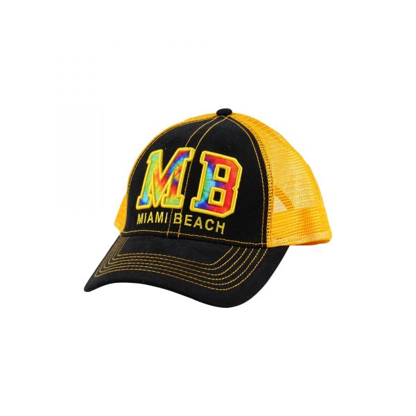 Custom Logo Caps with Mesh Back (2 colors) CHB 384