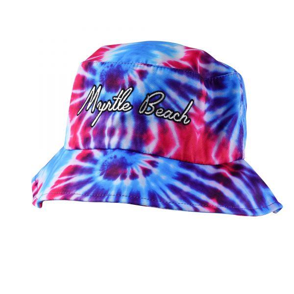 Custom Logo Tie Dye Bucket Hats (12 colors) CHB 390