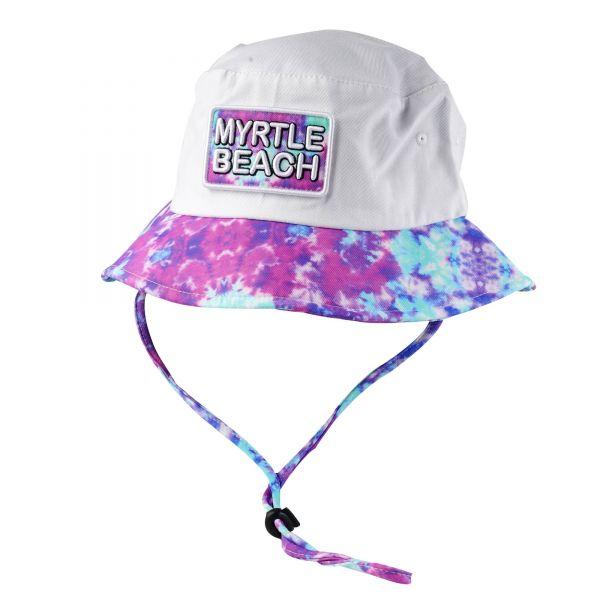 Custom Logo Tie Dye Bucket Hats (12 colors) CHB 391