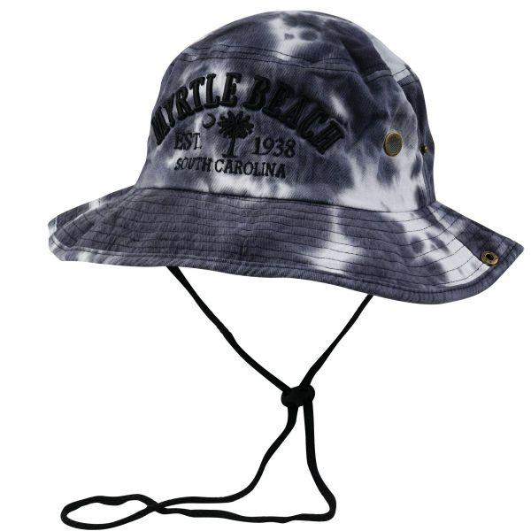 Custom Logo Tie Die Bucket Hats (6 colors) CHB 614 BUCKET