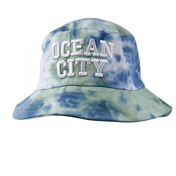 Custom Logo Tie Die Bucket Hats (6 colors) CHB 616