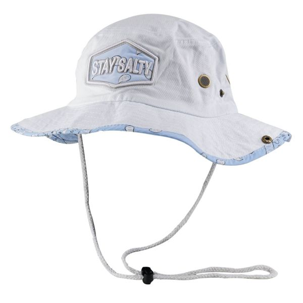 Paisley Bucket Hats with STAY SALTY Print (7 colors) CHB 617SS