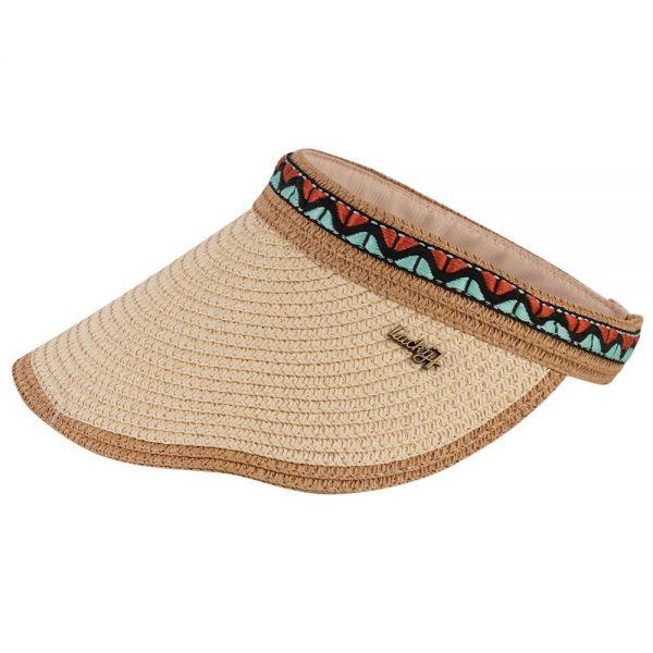 Summer Beach Straw Sun Visor Hat (4 colors) FH 282