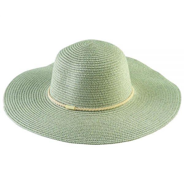 Women's Shiny Floppy Sun Hat (Min Order 30 pcs-5 colors)  FH 295
