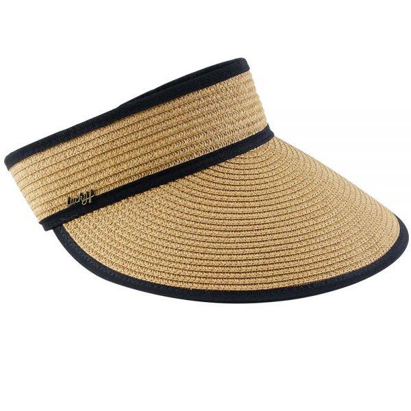 Summer Beach Straw Sun Visor Hat (3 colors) FH 325