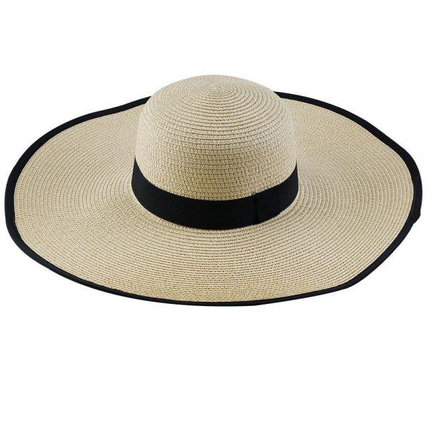 Women's Floppy Beach Sun Hat (Min Order 30 pcs-5 colors) FH 314