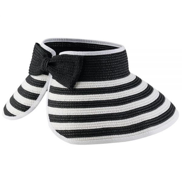 Foldable Roll Up Summer Beach Straw Sun Visor Hat (4 colors) FH 331