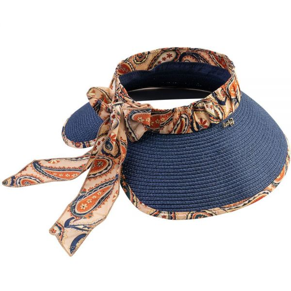 Foldable Roll Up Summer Beach Straw Sun Visor Hat (5 colors) SH 34B