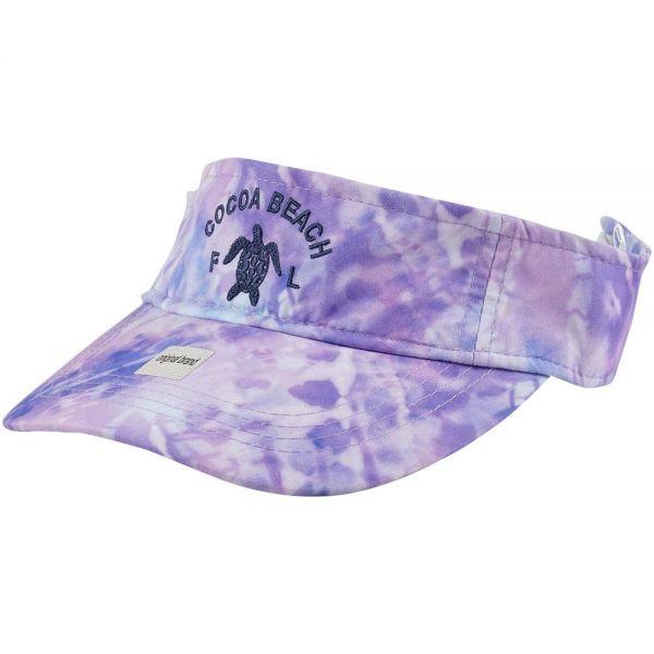 Custom Logo Tie Dye Visor Cap (4 colors) V220