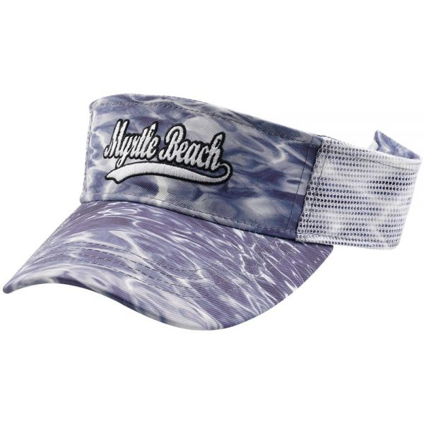 Custom Logo Water Texture Visor hat (4 colors)