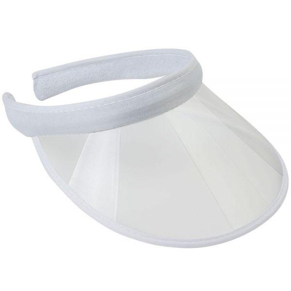 Summer Beach Colored Plastic Clear Sun Visor Hat (10 colors) V 07